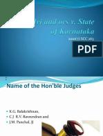 Selvi & Ors vs State of Karnataka & Anr