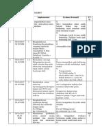 Catatan Keperawatan Tgl 30