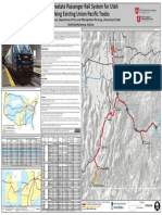 An Intrastate Passenger Rail System for Utah Using Existing Union Pacific Tracks