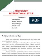 Tentang Arsitektur Internasional Style