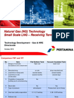Natural Gas Technology - Small Scale LNG - Receiving Terminal