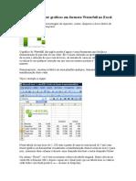 Excel Dicas_Aprenda a Fazer Gráficos Em Formato Waterfall No Excel