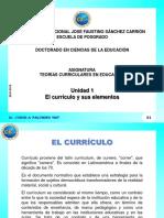 Bases y Fundamentos Del Curriculo