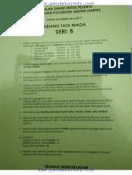 Soal UMPN 2016 Tata Niaga PNJ