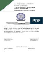 Certificate DBMS Miniproject