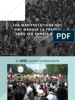 Les Manifestations Qui Ont Marqué La France Dans Les Années 2000