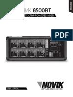 NOVIK NVK 8500 BT-manual Usuario