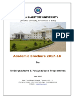 IMU Academic Brochure 2017-18