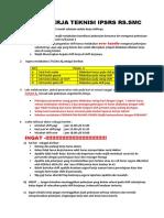 Rambu Rambu Kerja Teknisi Umum IPSRS RS