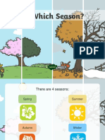 Seasons and Weather PPT