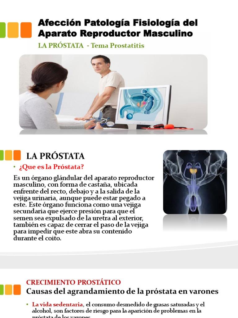 definición de agrandamiento de próstata