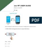 SONOFF Basic RF USER GUIDE.docx