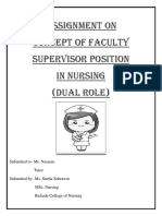 Faculty Supervisor
