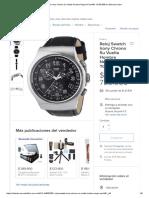 Reloj Swatch Irony Chrono Su Vuelta Hombre Negro # Yos440 - $ 785