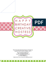 Free Contemporary Happy Birthday Pennant Banner