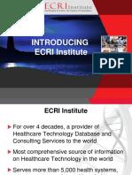 Introducing ECRI Institute.pptx