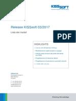 KISSsoft 03-2017 - Moduli