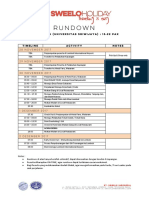 RUNDOWN (Mr. Hangga - Universitas Sriwijaya)
