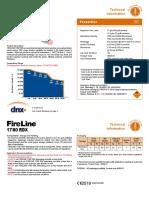 Fireline RDX Cord TDS