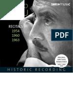 Booklet SWR19054CD