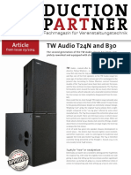 TW AUDiO T24N Tests Production Partner Reprint T24N En