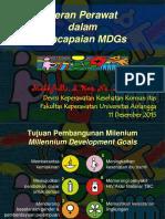 Peran Perawat MDGs 2015