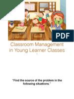 Week IX-Classroom Management