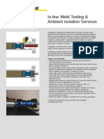 Inline Weld Testing Services