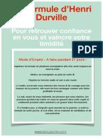 La for Mule de Dur Ville