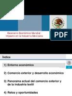Escenario Económico Mundial - Impacto en La Industria Mexicana - 2008