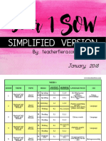 Simplified Sow Year 1 2018