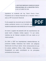 Intervención de Mariano Gozález Zarur - 2008