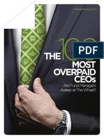 The 100 Most Overpaid CEOs 2017