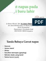 Gawat Nafas Neonatus 2013