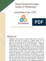 Rathinam Technical Campus