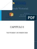 1. Vectores y Superficies. Funciones Vectoriales
