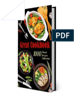 Great Cookbook 1000 Classic Recipes Collection