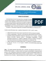 """Doc. Proiect de hotarare privind aprobarea asocierii Municipiului Iași cu Asociația """"Euroregiunea Siret-Prut-Nistru"""" și Consiliul Raional Ungheni, în vederea solicitării de finanțare nerambursabilă în parteneriat pentru proiectul cu titlul """"Reabilitarea infrastructurii de transport în regiunea transfrontalieră Ungheni-Iași, în vederea fluidizării traficului către punctul de trecere a frontierei Sculeni"""", în cadrul Programului Operațional Comun România – Republica Moldova 2014-2020"""