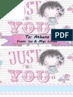 Athena gift tag
