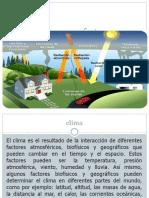 Clima y Sus Factores