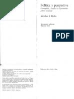 233552647 Wolin Politica y Perspectiva Copia
