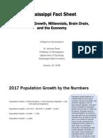 Mississippi Population Fact Sheet
