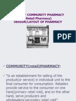 Pharmacy Design Layout