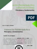 Valoración funcional Fisioterapia