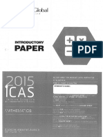 Icas Introductory 2015