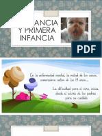 3.- Lactancia y Primera Infancia