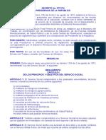d 3771 Rgto Servicio Social