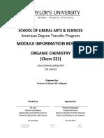 MIB Chem 221 Fall 2016