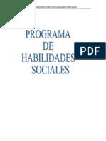 Programa de Habilidades Sociales.