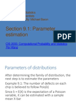 Chapter 09 ParameterEstimation